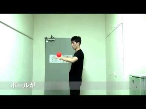 コンタクトジャグリング基礎練動画~アームロール~