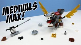 getlinkyoutube.com-LEGO Mixels Series 7 Medivals Camillot Mixadel & Paladum Max Opening Build
