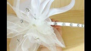 getlinkyoutube.com-tocado de novia con cristal de swarovshy