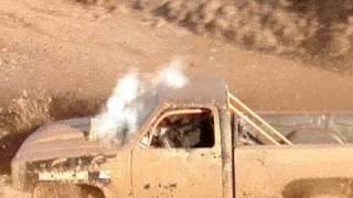 getlinkyoutube.com-MUD TRUCKS PIT RACE, WRECKS & JUMPS - Red River Mud Bog!