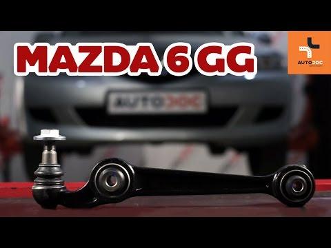 Как да сменим преден долен носач наMazda 6 GY ИНСТРУКЦИЯ   AUTODOC