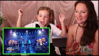 Vocal Coach REACTS to TNT BOYS as THE THREE TENORS- 'O SOLE MIO width=