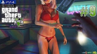 getlinkyoutube.com-GTA V / GTA 5 - PS4 / XBOX ONE Walkthrough Next Gen Gameplay PART 9 Franklin Visits Strip Club