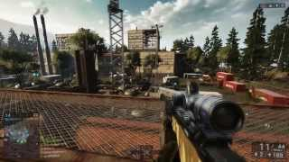 getlinkyoutube.com-Battlefield 4 - L96A1, Weapon Review/How To Get! China Rising DLC Weapon!