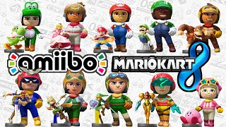 getlinkyoutube.com-Mario Kart 8: Amiibo Mii Costumes Unlock! Link, Kirby, Samus 60fps Gameplay Walkthrough Wii U HD