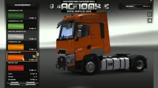 getlinkyoutube.com-Renault Range-T Euro Truck Simulator 2 1.21X