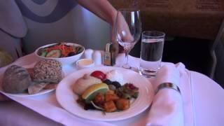 getlinkyoutube.com-Emirates A380 Business Class Milan-New York Return