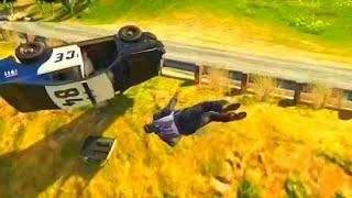 getlinkyoutube.com-GTA V Unbelievable Crashes/Falls Funny Moments - Episode 05