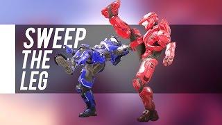 getlinkyoutube.com-New Halo 5 Assassination! Sweep The Leg (ULTRA RARE)