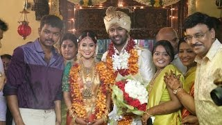 getlinkyoutube.com-Vijay conducts Shanthanu- Keerthi Marriage | Bhagyaraj, Jyothika, Mani Ratnam | Wedding Video