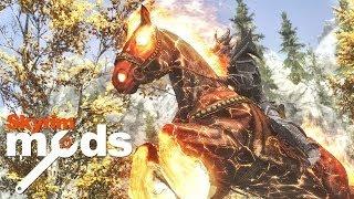 getlinkyoutube.com-OMG My Horse Just Exploded! - Top 5 Skyrim Mods of the Week