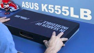 getlinkyoutube.com-Notebook ASUS K555LB || Unboxing e Primeiras Impressões