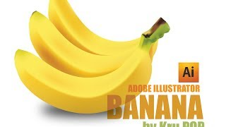 getlinkyoutube.com-วาดกล้วยด้วย Mesh Tool (Adobe Illustrator workshop 5 (Mesh Tool) : Banana)