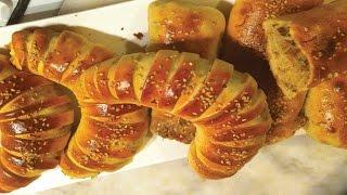 getlinkyoutube.com-طريقة عمل سندويشات محشوة رائعة و لذيذة sandwich farcie viande hachée