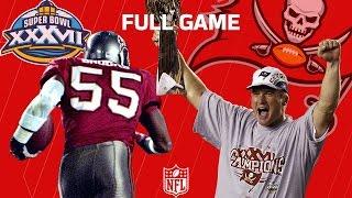 "getlinkyoutube.com-Super Bowl XXXVII: ""The Jon Gruden Bowl"" Raiders vs. Buccaneers   NFL Full Game"