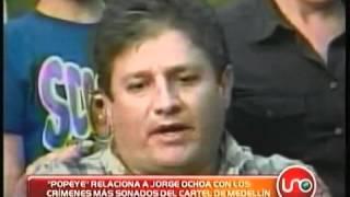 Popeye relaciona a Fabio Ochoa con crímenes más sonados del cartel de Medellín