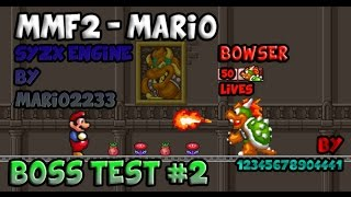 getlinkyoutube.com-Boss Test#2:Mario Forever syzx engine by Mario2233 - Bowser 50 lives