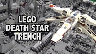 getlinkyoutube.com-Huge LEGO Star Wars Death Star Trench Scene | BrickFair Alabama 2017