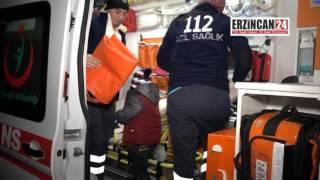 Erzincan'da İki Otomobil Çarpıştı: 9 Yaralı