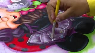 getlinkyoutube.com-Mulher.com - 09/03/2016 - Pintura, joaninha com Cupcake - Lilinha Silva PT2