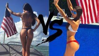 getlinkyoutube.com-Bruna Lima VS Jen Selter  Video | jen selter workout !