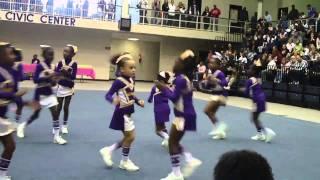 getlinkyoutube.com-Milford Warriors 7 Year Old Cheerleaders: Cobb Cheer Fest 2010