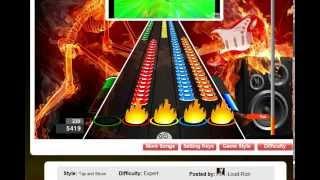 getlinkyoutube.com-Guitar Flash Custom - DNA Uber Solo 49k