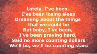 getlinkyoutube.com-OneRepublic - Counting Stars [Lyrics]