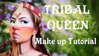 getlinkyoutube.com-TRIBAL QUEEN Make up Tutorial ราชินีแห่งขุนเขา