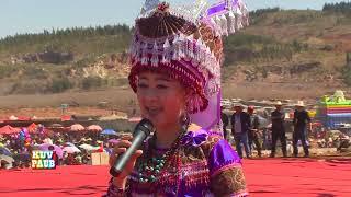 """getlinkyoutube.com-Laaj Tsawb 2014 邹兴兰 Sings""""Nkauj Muam Nrau Nus"""" during Hmong Int'l Huashan - Hauvtoj Festival 2014"""