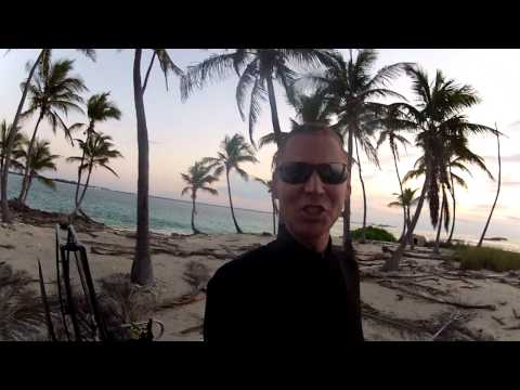 Flat Top Paramotor Fly Camping Bahamas!!! Practical Jet Pack Ultralight Powered Paraglider