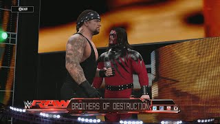 WWE 2K16 Unfitting Entrances - The Brothers of Destruction