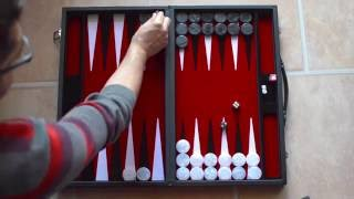 getlinkyoutube.com-#1 - Backgammon & Tavla - Tutorial: Grundregeln