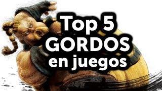 getlinkyoutube.com-Top 5 - Gordos en juegos