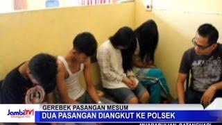 getlinkyoutube.com-Dua Pasangan Mesum Diangkut Ke Polsek