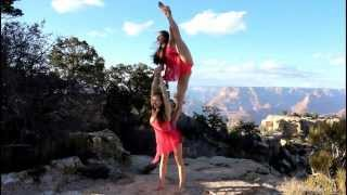 "getlinkyoutube.com-Acrobatic Duo """" ""M&M's"" . Grand Canyon."