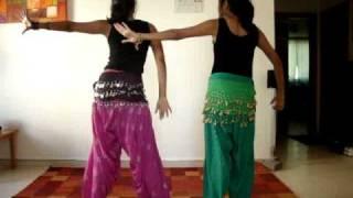 getlinkyoutube.com-Gal Mitti Mitti Dance by Shruthi and Shivi.MPG
