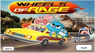 getlinkyoutube.com-Cartoon Network Games | The Amazing World of Gumball | Wheels Of Rage