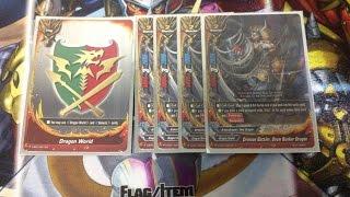 getlinkyoutube.com-Future Card Buddyfight!! Dragon World Crimson Battlers Deck Profile