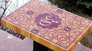 "getlinkyoutube.com-Making an ""Arabic style"" end grain cutting board"