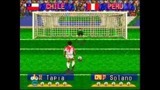 getlinkyoutube.com-Jugando Copa America Super Nintendo: Chile - Peru (Cuartos de Final) Parte 1