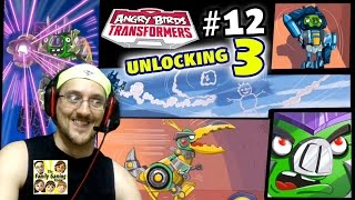 Lets Play Angry Birds Transformers Part 12! LEVEL 150 - GREY SLAM GRIMLOCK, BRAWL & MORE Gameplay!