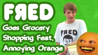 getlinkyoutube.com-Fred Goes Grocery Shopping feat. Annoying Orange