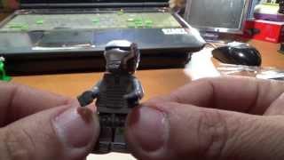 getlinkyoutube.com-decool 실버색상의 아이언맨 레고 짝퉁 장난감 lego knockoff Iron man mark 40