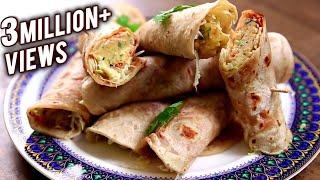 getlinkyoutube.com-Veg Frankie | Homemade Frankie Recipe | The Bombay Chef - Varun Inamdar