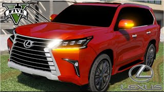 getlinkyoutube.com-GTA V Mods - Lexus LX 570 2016 / Especial rosa