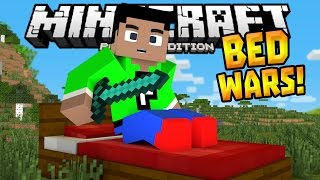 getlinkyoutube.com-BED WARS MINIGAME in 0.14.1!!! - MCPE MiniBox Server - Minecraft PE (Pocket Edition)
