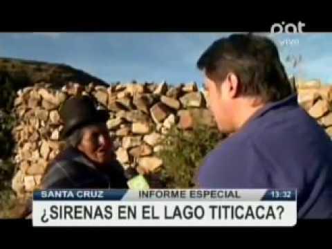Informe especial, hay sirenas en el Lago Titicaca #verPAT #Bolivia