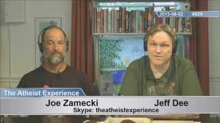 getlinkyoutube.com-Atheist Experience #929 with Jeff Dee and Joe Zamecki (the first time from the Freethought Library!)