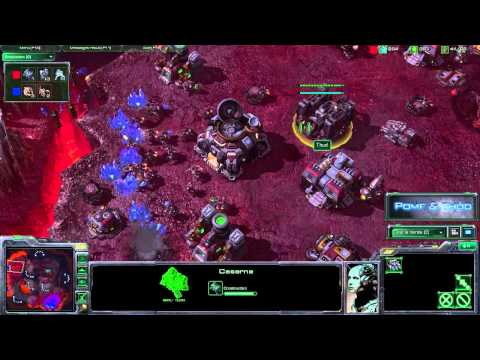 (HD059) Starcraft 2 Replay - Pomf (Z) vs Thud (T) - Game 1 [FR]